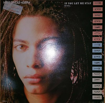 "Terence Trent D'Arby If You Let Me Stay, 12"" vinyl Maxi, CBS 650406 6, orig.1987"
