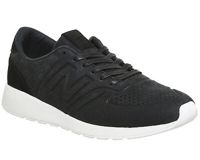 Mens New Balance Black  Leather Lace Up  Trainers Uk Size  11 *Ex Display
