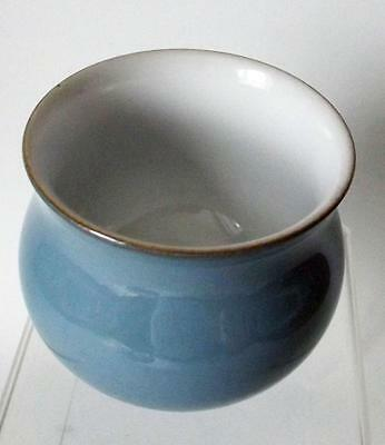 Denby Pottery Colonial Blue Pattern Sugar Bowl  8cm Dia made in Stoneware