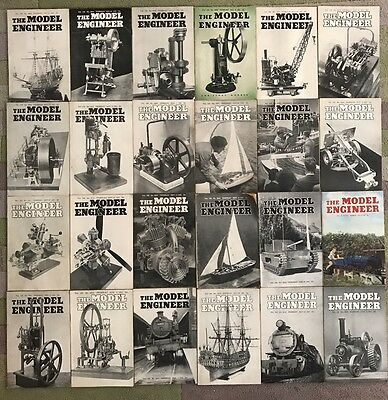 24x The Model Engineer Magazines - July-Dec 1951