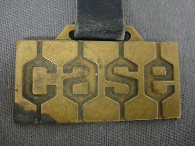 Case Tractors Groff Advertising Watch Fob