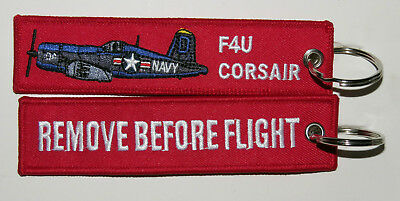 Keyring CORSAIR F4U WW2 Fighter USAF Pilot keychain