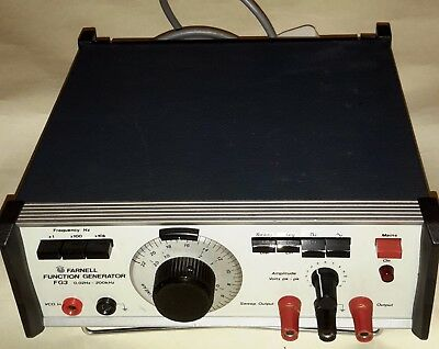 Farnell FG3 Signal / Function generator, sine, square,triangle, sweep