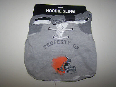 Cleveland Browns NFL Team Hoodie Sling Tailgate Tote Bag Purse Carry-all Cool!