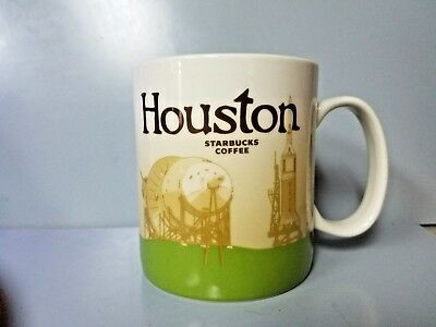 Starbucks Houston Mug Coffee 16 fl oz Global Icon City Collector Series 2012