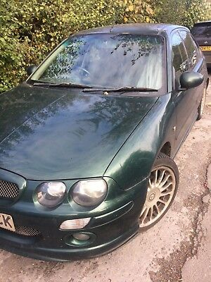 MG ZR 4 door 2003 Good runner turbodiesel  Tatty  Towbar No reserve