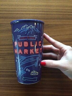 2017 First Starbucks Holiday Tumbler Pike Place Exclusive Ceramic Limited Time
