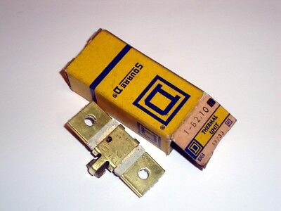 Square D Overload Heater B2.10 New Relay Thermal Unit B 2.10