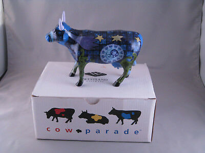 cow parade westland giftware  MIB infinity cow  #9191