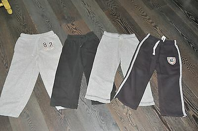 Boys Next M&s Tu Set Of 4 Joggers, Jogging Bottoms Size 4-5 Years