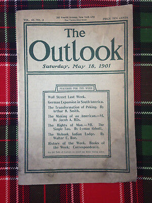 5/18/1901 THE OUTLOOK--Article on Mohonk Indian Lodge Walter C. Roe