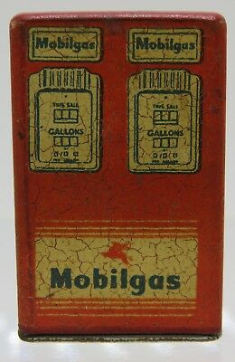 early mobil twin gas pump cigarette lighter