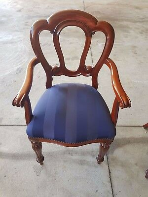 Antique Mid Victorian Fiddle Back dining chairs  RRP $510 each