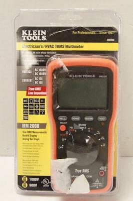 NEW - Klein Tools MM2000 True RMS Electrician's/HVAC Multimeter