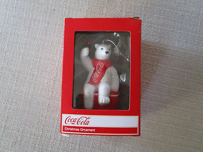 Coca-Cola Bear Ornament