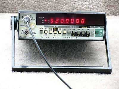 Fluke 1912A 520 MHz Frequency Counter - Calibrated - HAM