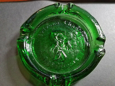 Rare Arizona Charlie Casino Ashtray Historic Las Vegas Nevada Heavy Glass
