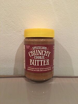 New Trader Joe's Speculoos Crunchy Cookie Butter 400G
