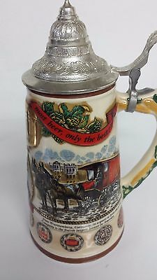 G. Heileman Brewing Beer Stein. Limited edition. 1989. Collectible. Beautiful