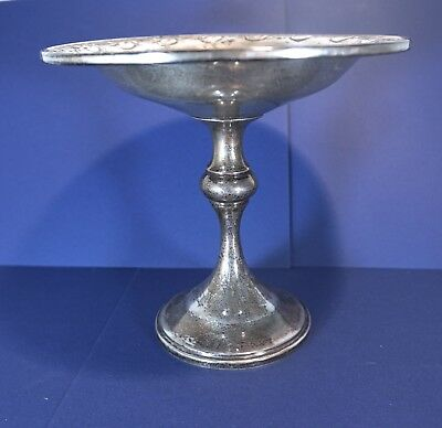 Quaker Silver Company (Gorham) Weighted Sterling Silver Compote