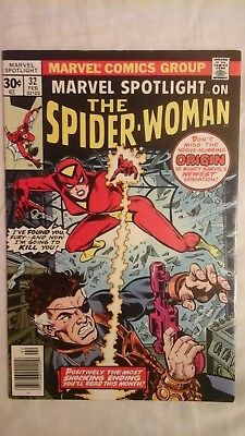Marvel Spotlight #32 1st spider-woman 9.0