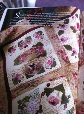 Jenny Haskins Creative Expressions Machine Embroidery Magazine Issue 4 Quilting