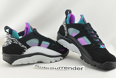 693385d31298 Nike Air Trainer Huarache Low - SIZE 7.5 - NEW - 749447-002 Purple White