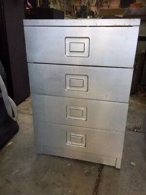 PAIR OF RETRO / VINTAGE--- Alrob--- BEDSIDE CABINETS. Northcote