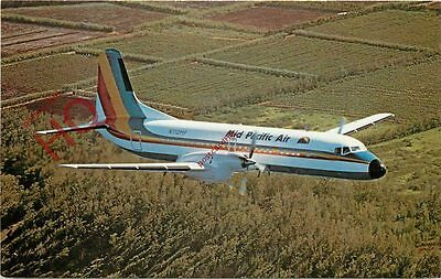 Picture Postcard- MID PACIFIC AIRLINES YS-11