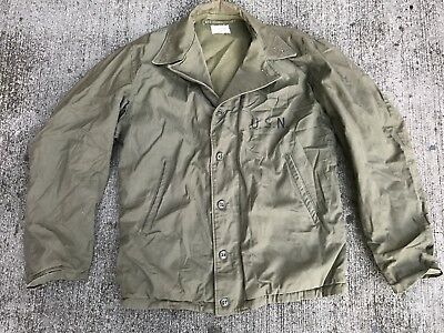 WWII WW2 M1941 M41 Original Vintage Field Jacket 38R