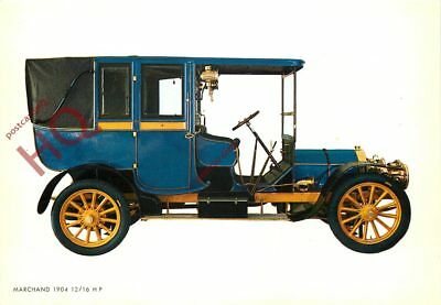 Picture Postcard: VINTAGE CAR, MARCHAND 1904 12/16 HP