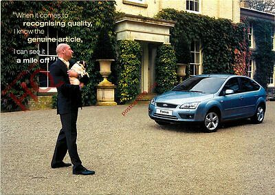 Picture Postcard: Ford Focus Advertising