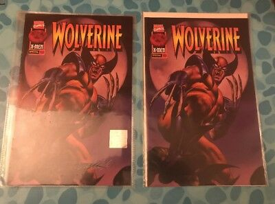 Pair of Wolverine #102.5 9.0 or Better Marvel Comics 1 COA Signed Vallejo