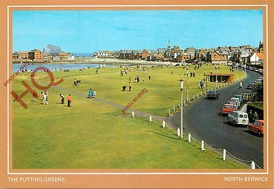 Picture Postcard::North Berwick, The Putting Greens