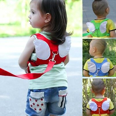 Kids Safety Leash Harness Walking Wings Belt Children Anti Lost Tether Strap Pop