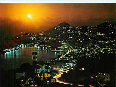 Picture Postcard:;Madeira, Funchal, Sunset