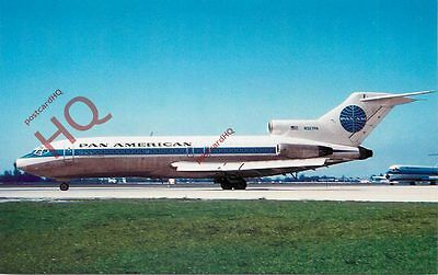 Picture Postcard:;PAN AMERICAN BOEING 727-121