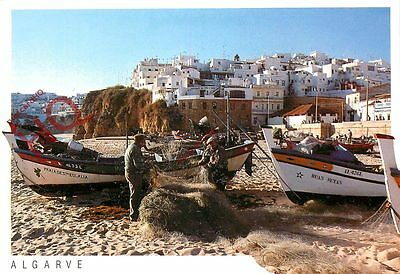Picture Postcard:-Algarve, Albufeira, Fishing Nets
