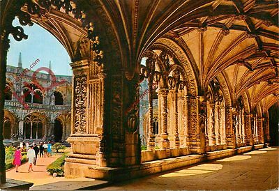 Picture Postcard:-Lisbon, Belem, Cloister Of The Jeronimos Monastery