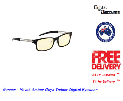 Gunnar - Havok Amber Onyx Indoor Digital Eyewear