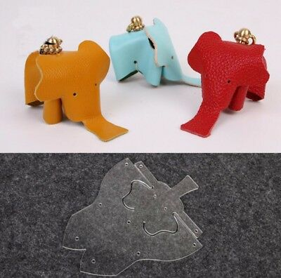 Leather Craft DIY Little Elephant Production Template Acrylic Board Tool