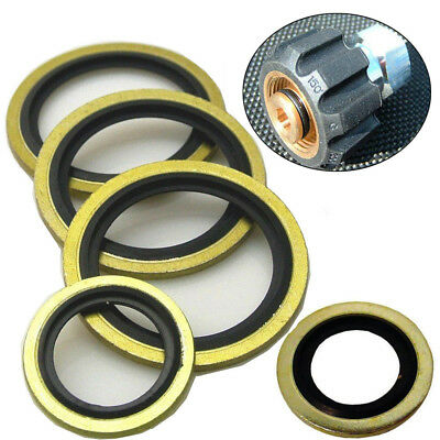 2/10/20 PCS New Dowty Seals Washers Hydraulic BSP Oil Fuel Petrol Seal Washer Of