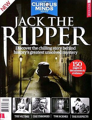 Jack The Ripper Curious Minds Chilling Story Behind Unsolved Mystery 2017 NEW