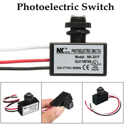 80~277V Photocell Dusk To Till Dawn Automatic Light Lamp Switch Sensor