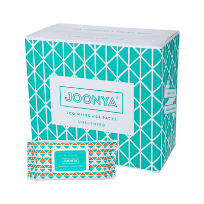 Joonya Non-Toxic, Biodegradable Baby Wipes - 24 Packs x 80 Wipes - Free Delivery