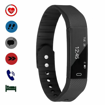 étanche Fitness Tracker Cardiofrequencemetre SMARTWATCH iPhone Android iOS Sport