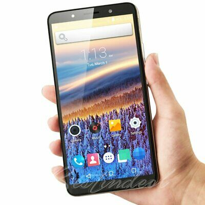 "Cheap Unlocked 6.0"" Android 7.0 Smart Mobile Quad Core Dual SIM WiFi GPS Phone"