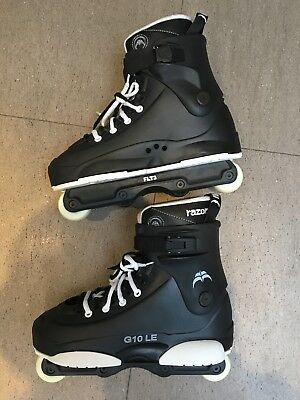 Razor Genesys 10 LE Aggressive Skates UK13 black/white barely used