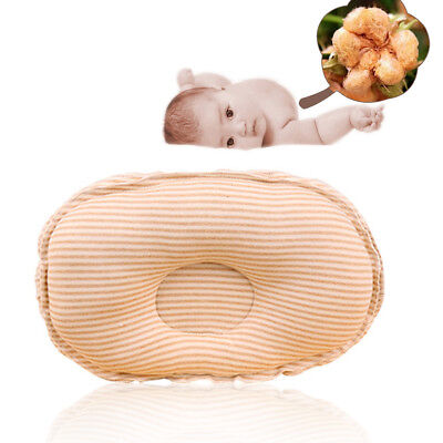 1PC Newborn Baby Head Support Cot Soft Brown Pillow Protect Head Shape Sleep G7