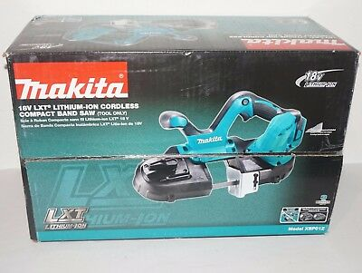 "NEW Makita XBP01Z 2-1/2"" Compact Bandsaw Bare Tool Cordless 18V LXT Band Saw"